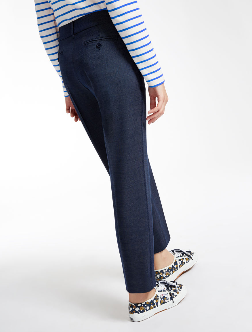 Stretch wool trousers Weekend Maxmara