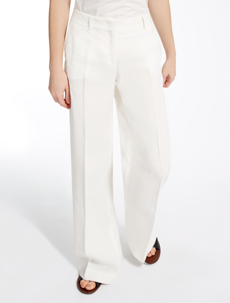 Pure linen trousers Weekend Maxmara