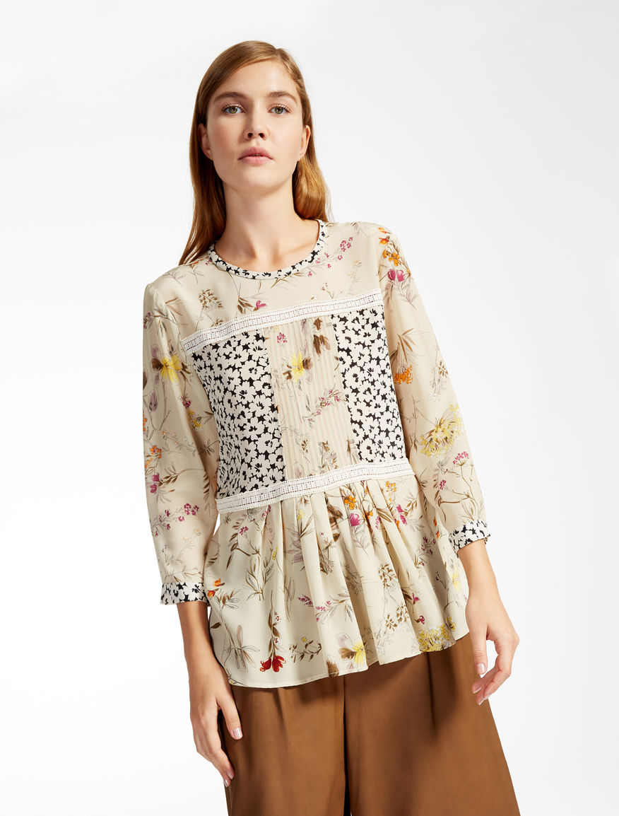Silk crêpe de Chine blouse Weekend Maxmara