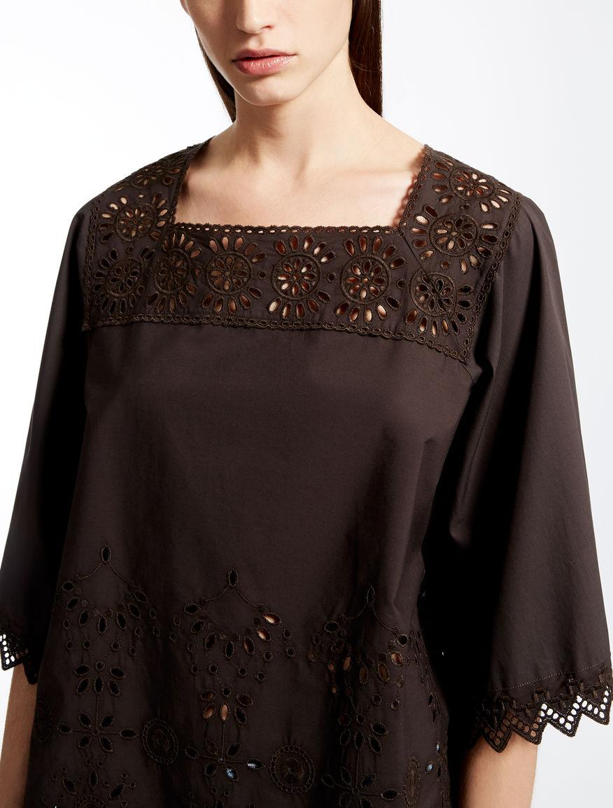 Cotton poplin blouse Weekend Maxmara