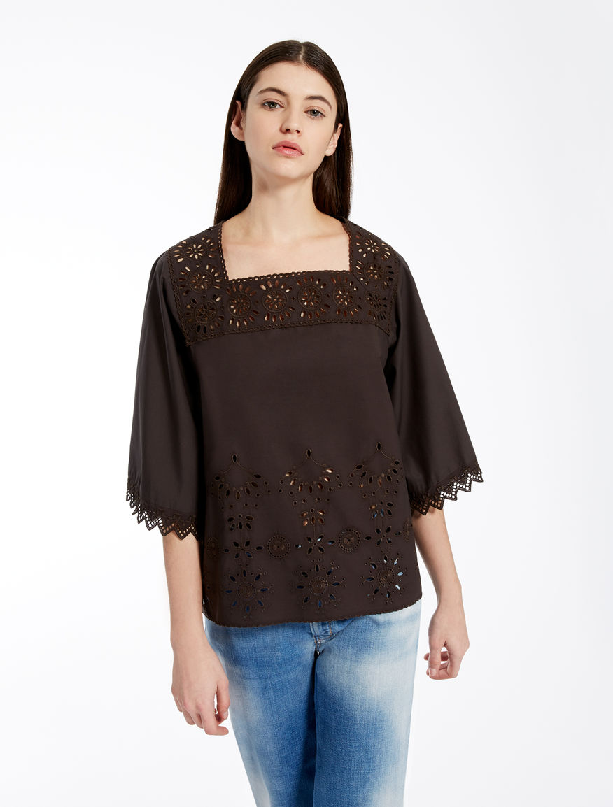 Cotton poplin blouse Weekend Maxmara