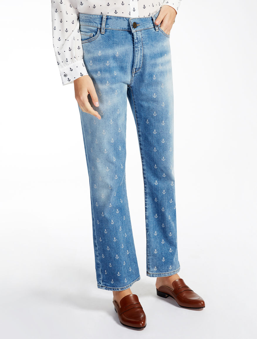 Printed boyfriend jeans Weekend Maxmara