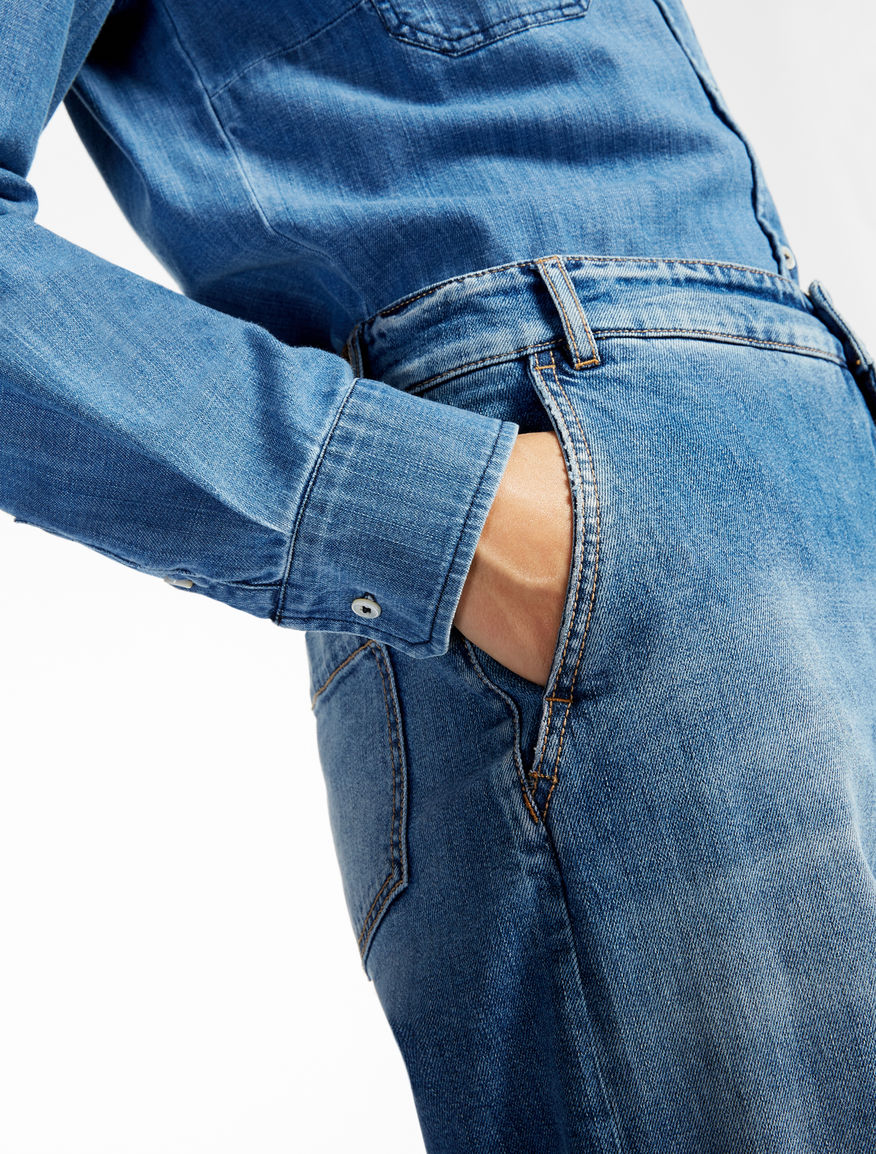 Jeans stretch cotton denim Weekend Maxmara