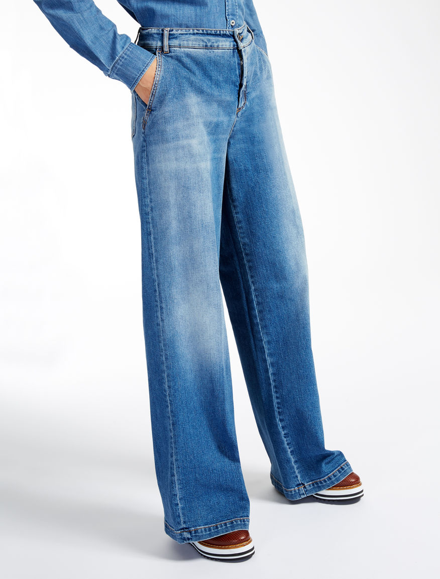 Jeans stretch cotton denim Weekend Maxmara