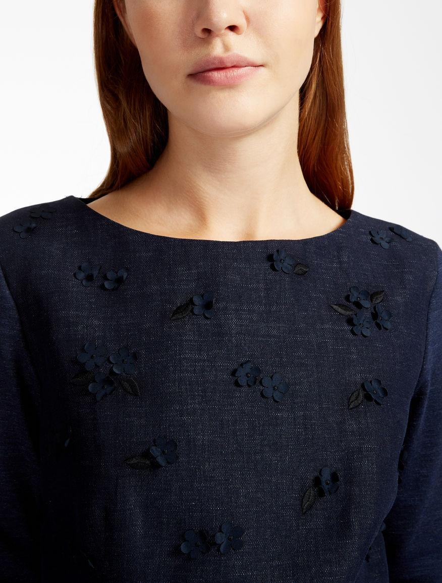 Cotton and linen dress Weekend Maxmara