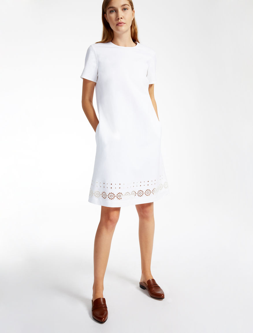 Stretch cotton dress Weekend Maxmara