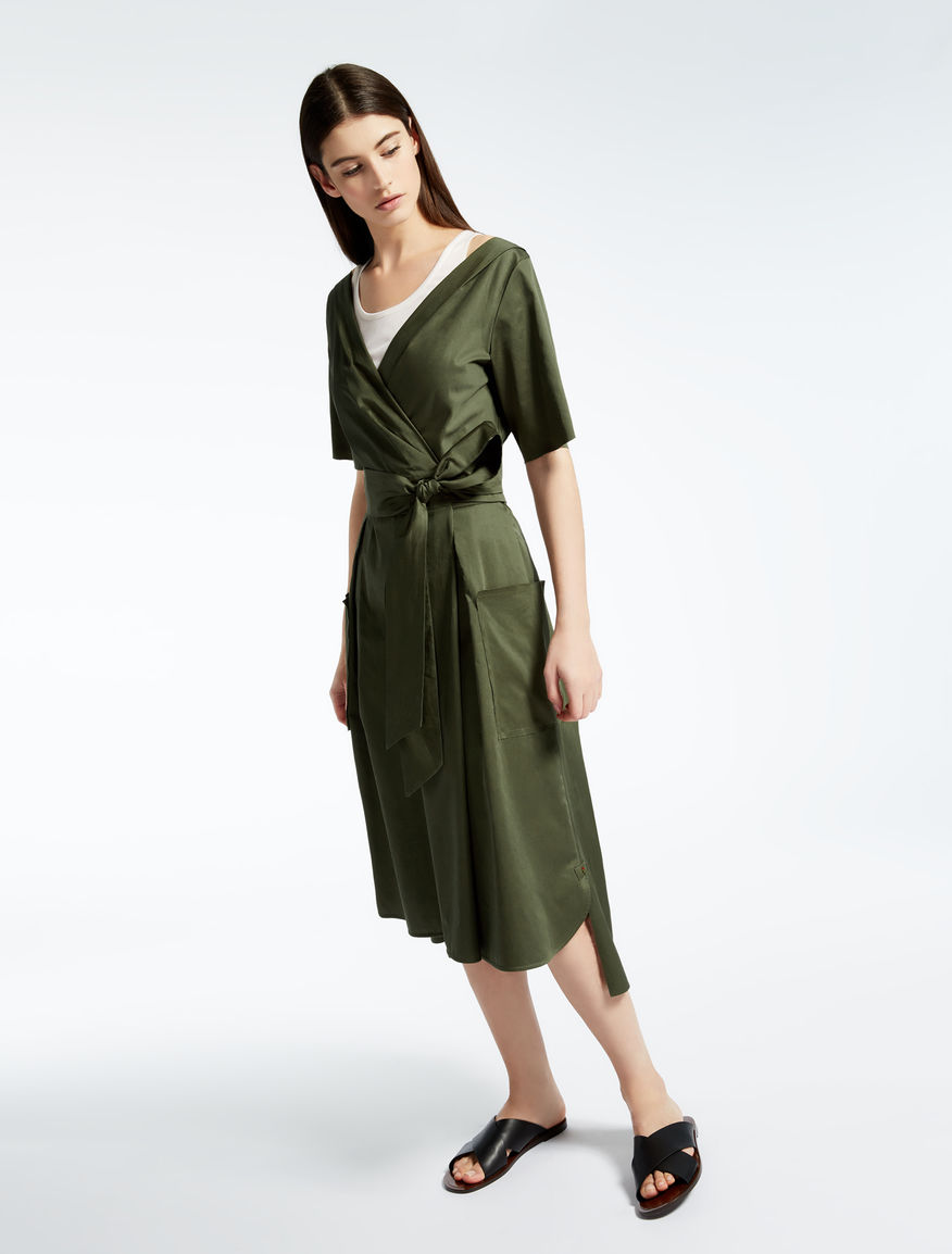 Cotton satin dress Weekend Maxmara