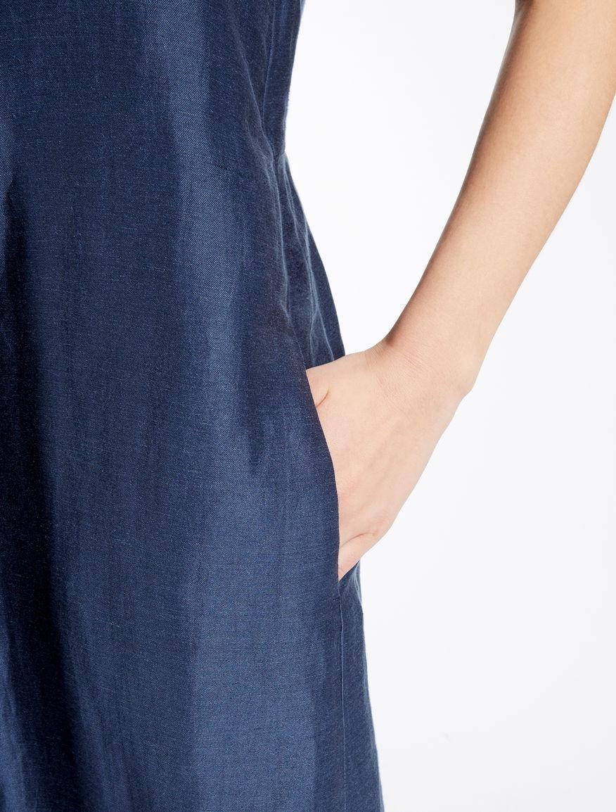 Linen and silk dress Weekend Maxmara