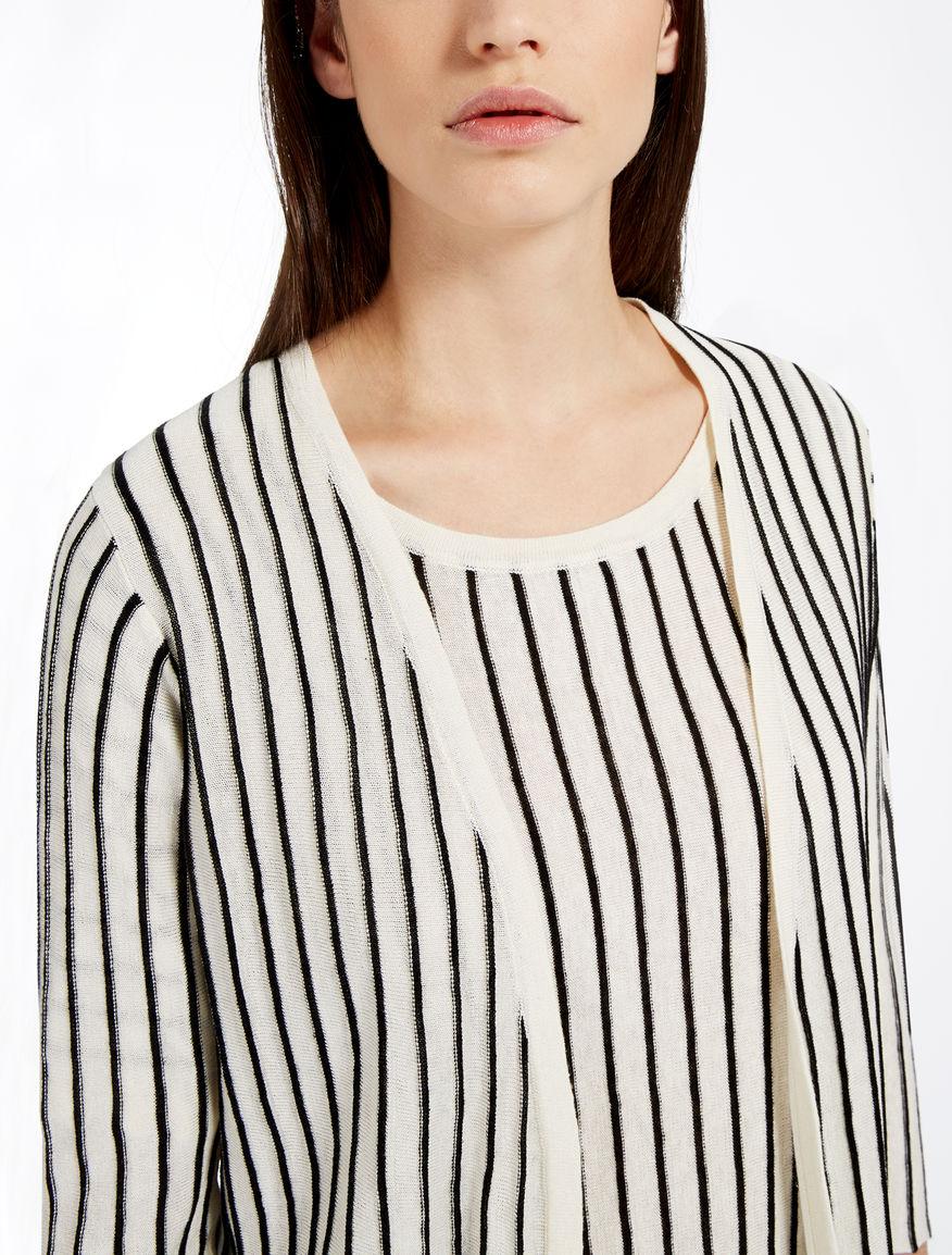 Silk and linen cardigan Weekend Maxmara