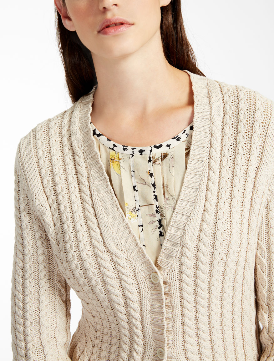 Stretch cotton cardigan Weekend Maxmara