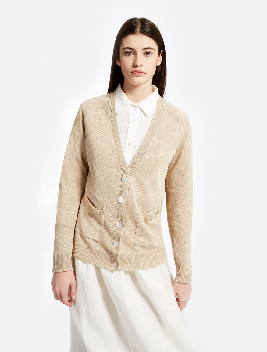 Linen cardigan Weekend Maxmara