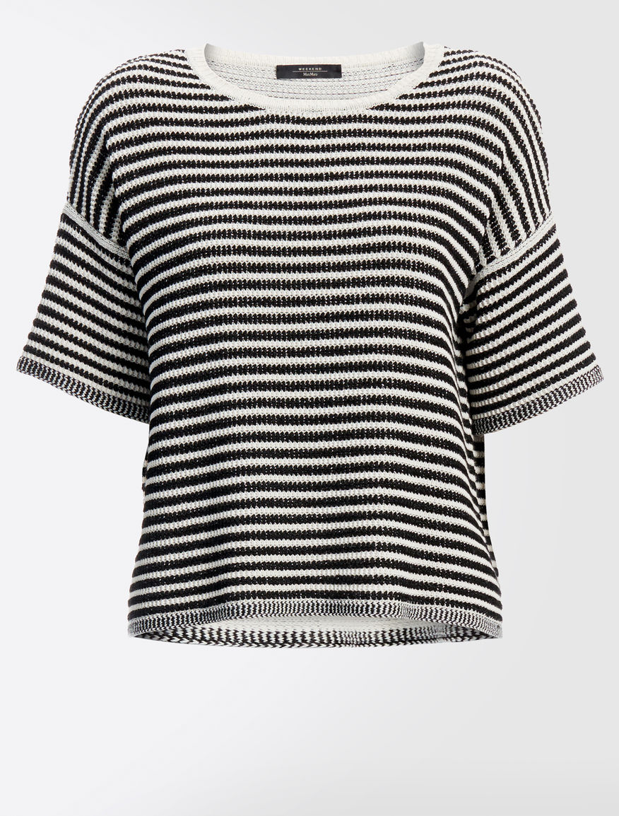 Cotton and linen sweater Weekend Maxmara