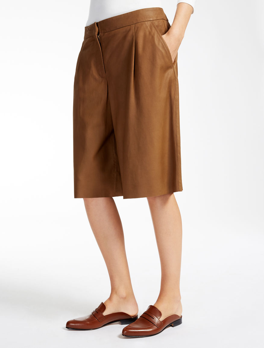 Pantaloni in pelle Weekend Maxmara