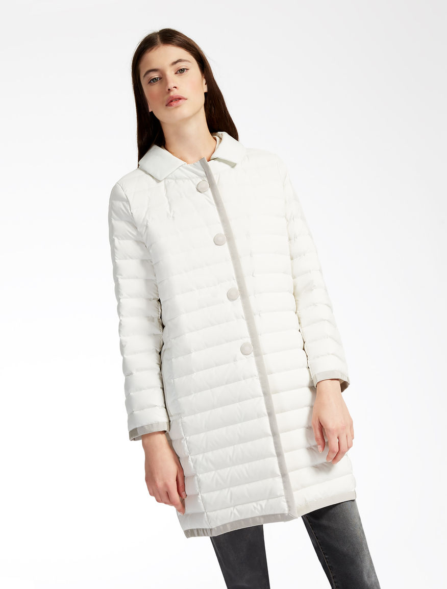 Drop-proof canvas down jacket Weekend Maxmara