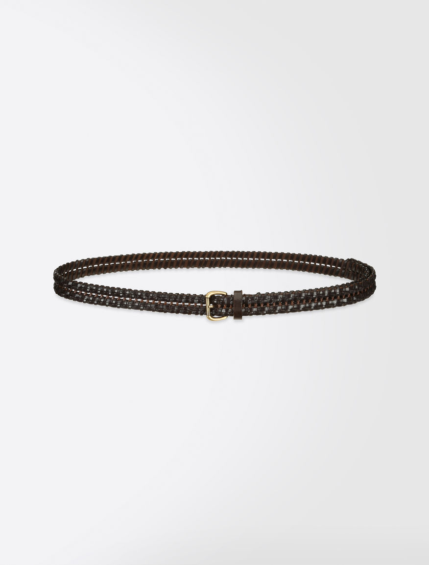 Woven leather belt Weekend Maxmara
