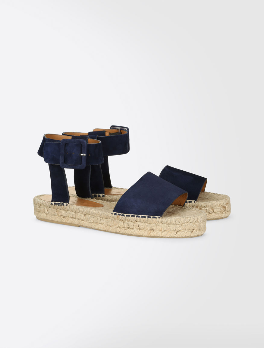Suede-effect sandals Weekend Maxmara
