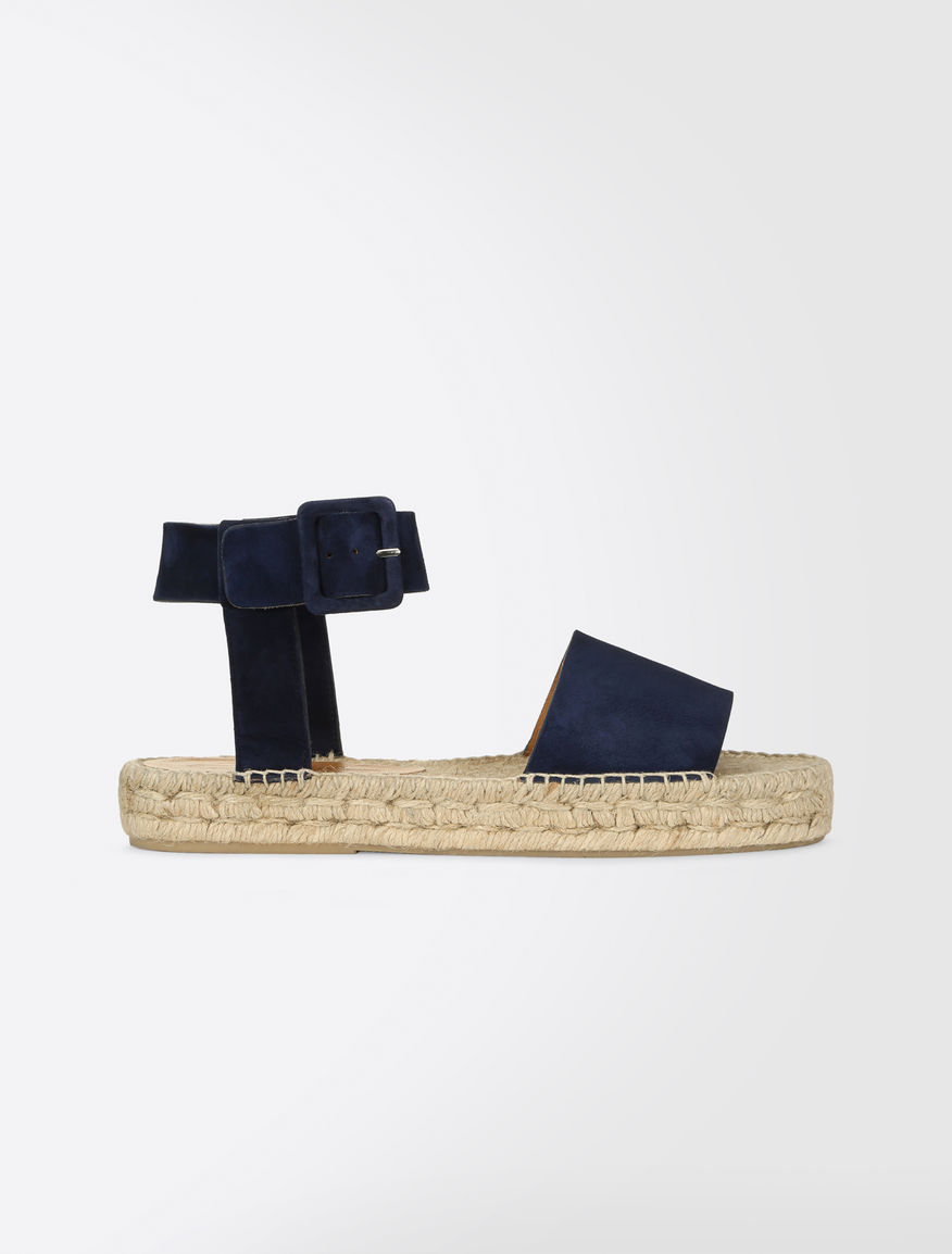Suede-effect sandals Weekend Maxmara