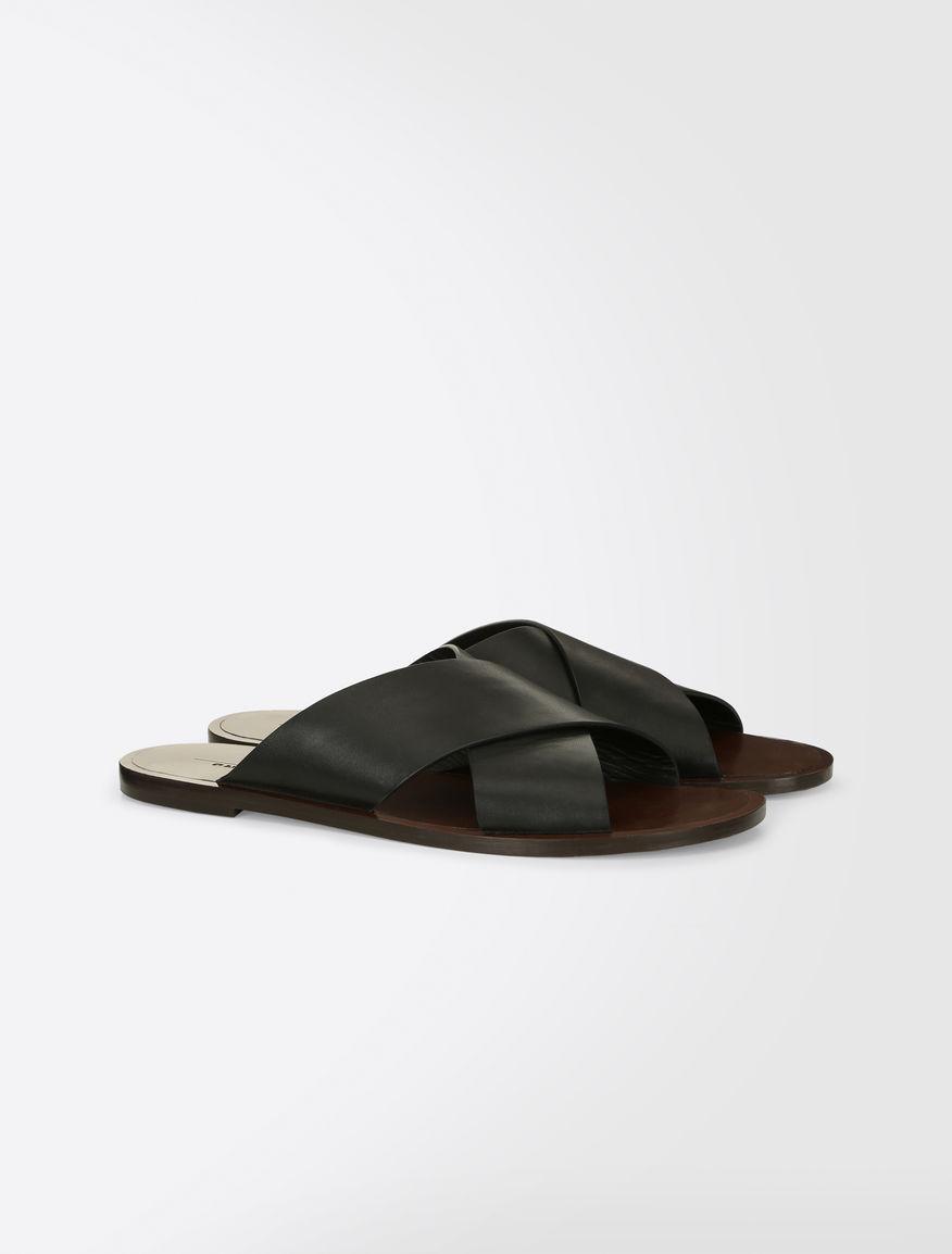 Leather slipper shoes Weekend Maxmara