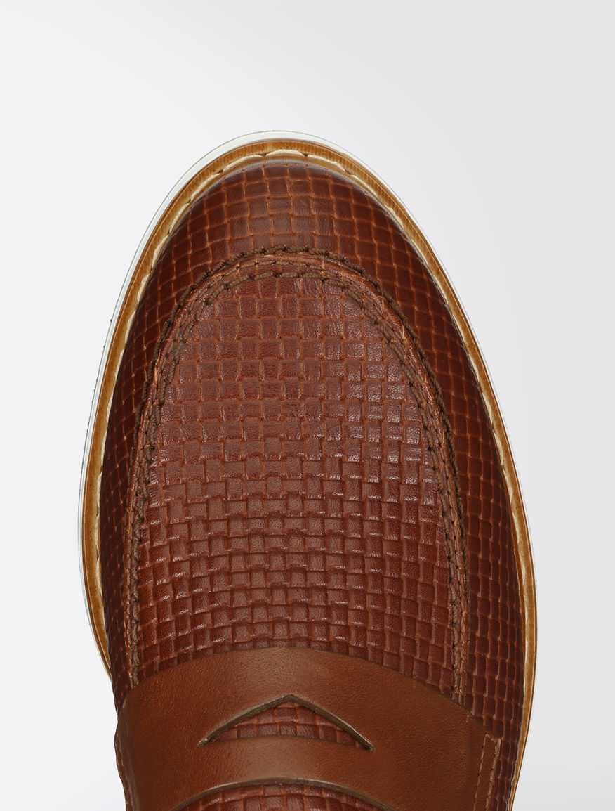 Printed leather loafers Weekend Maxmara