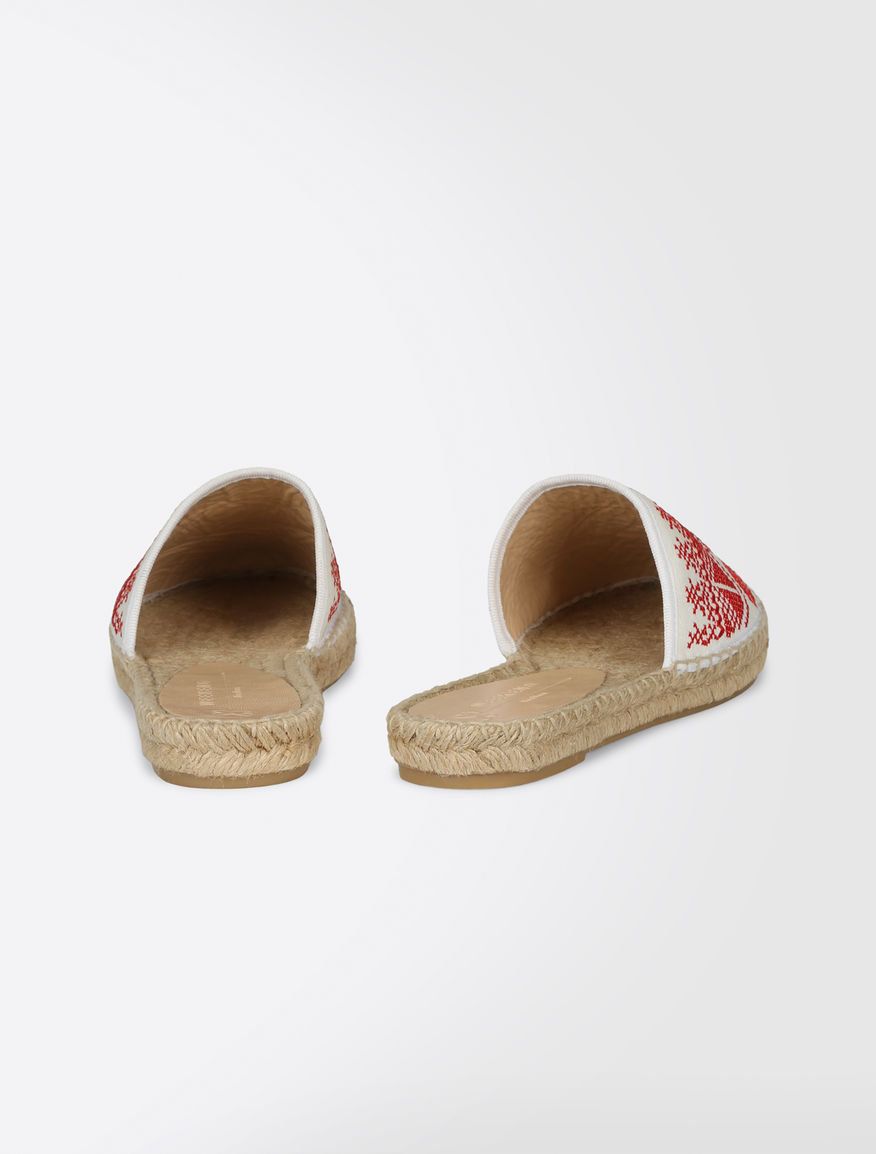 Embroidered slipper shoes Weekend Maxmara