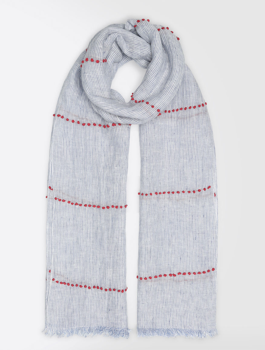 Embroidered linen stole Weekend Maxmara