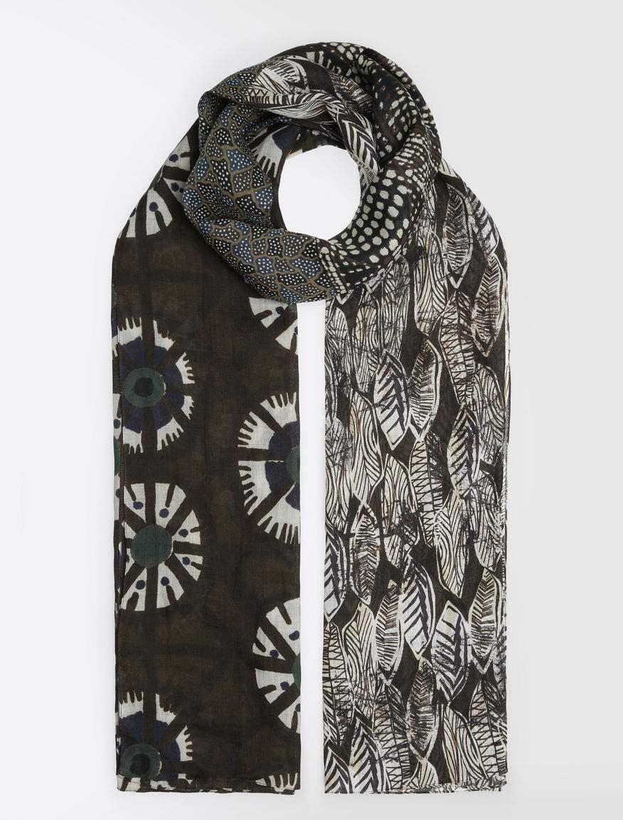 Ramie patchwork stole Weekend Maxmara