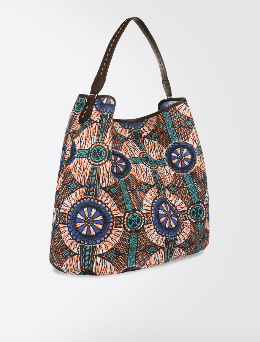 Printed canvas hobo Weekend Maxmara