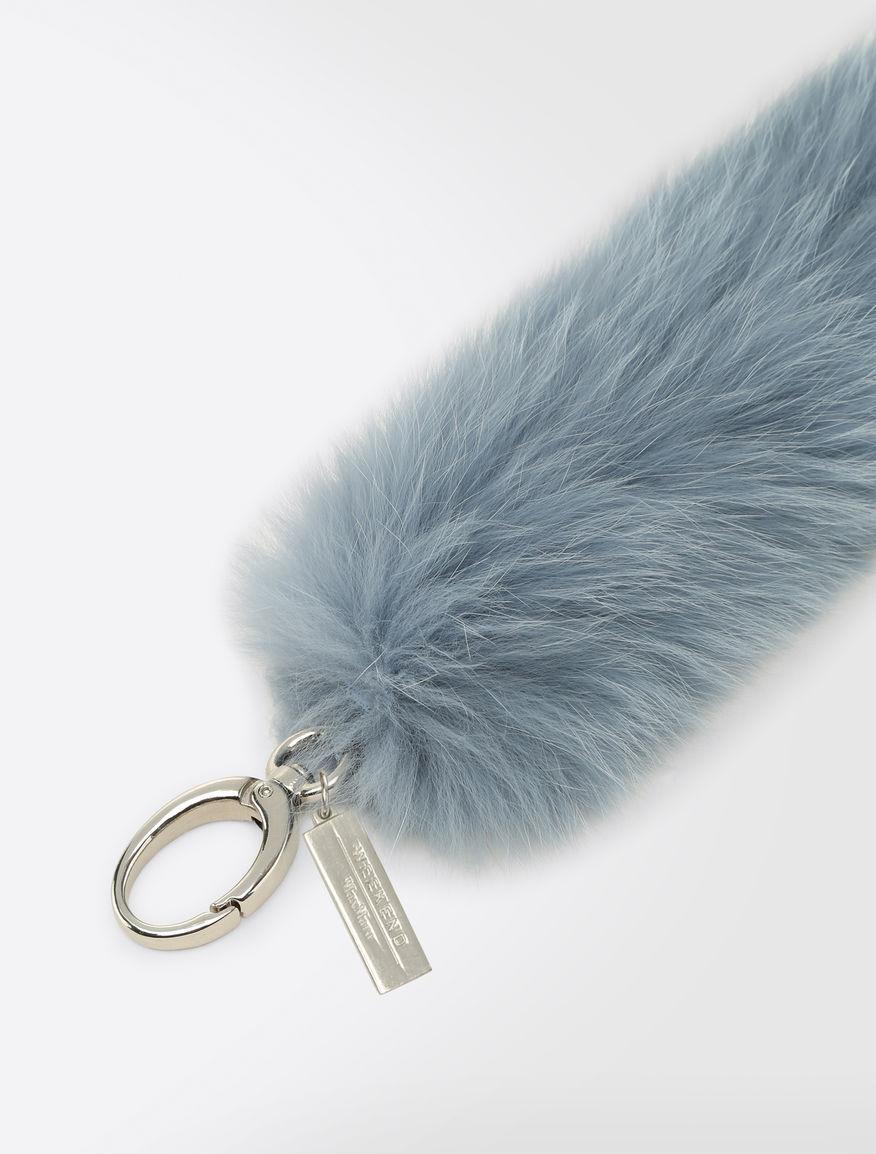 Fox fur keychain Weekend Maxmara