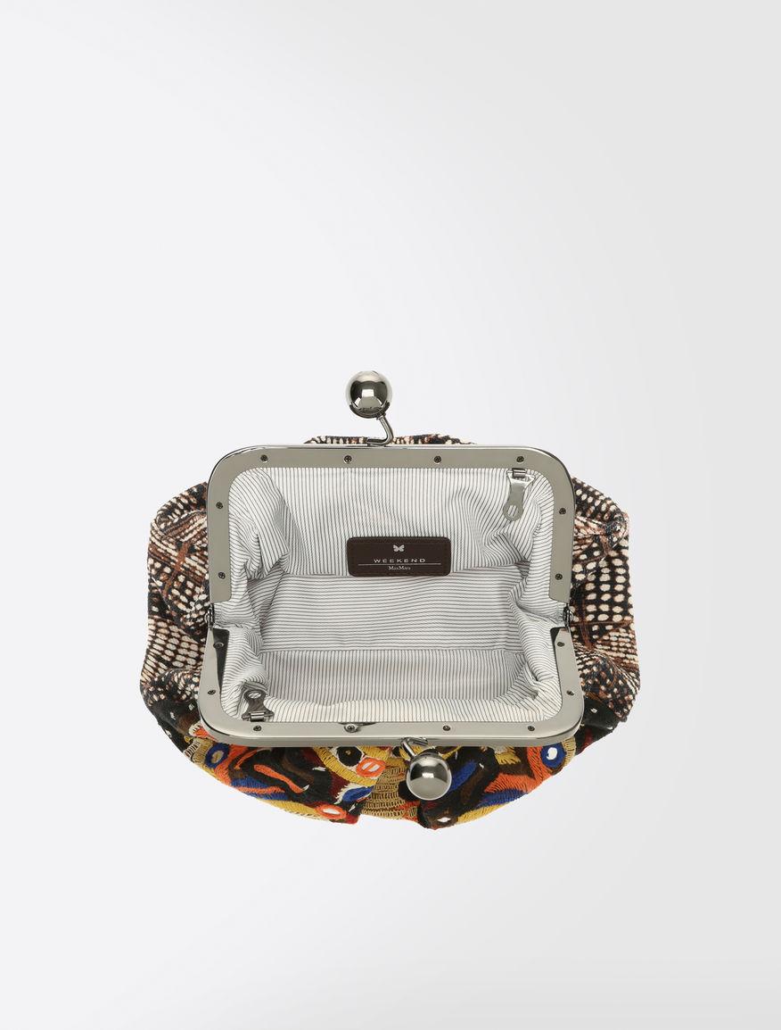 Printed canvas Pasticcino bag Weekend Maxmara