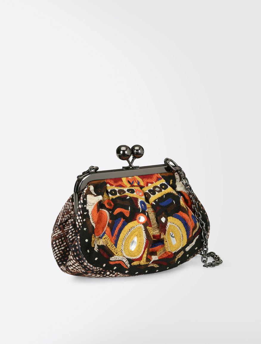 Printed canvas Pasticcino bag Weekend Maxmara