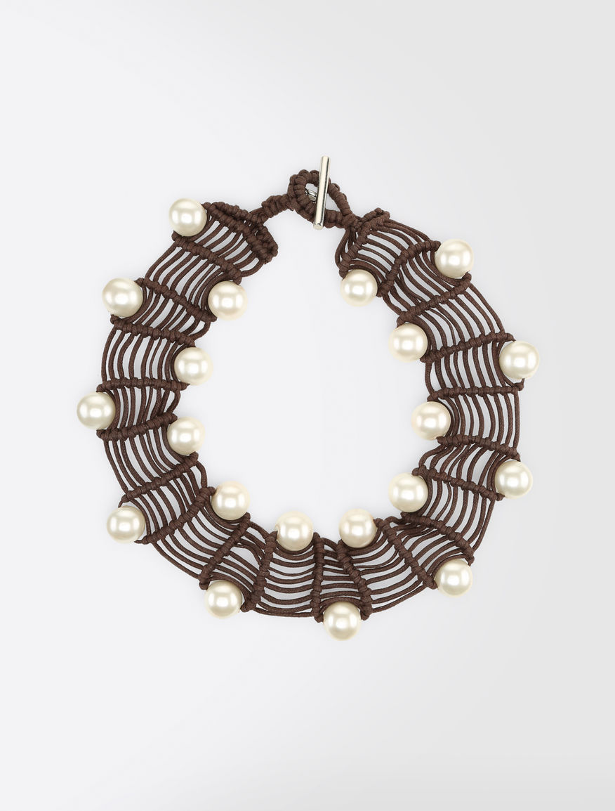 Glass bauble necklace Weekend Maxmara