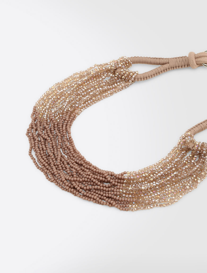 Cord and rhinestone necklace Weekend Maxmara