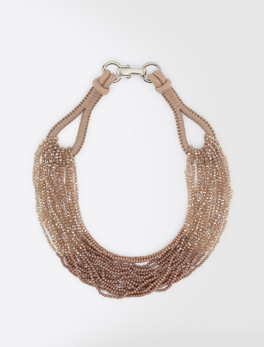 Cord and rhinestone necklace Weekend Maxmara