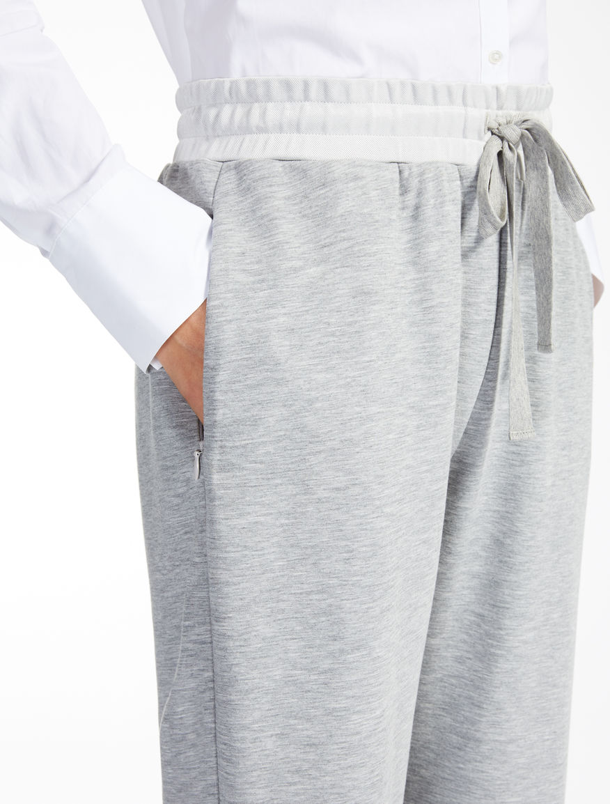 Jersey trousers Weekend Maxmara