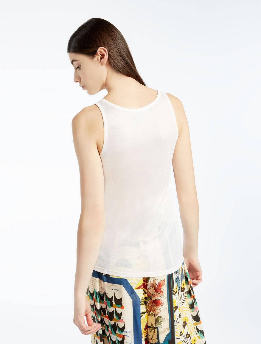 Silk jersey top Weekend Maxmara