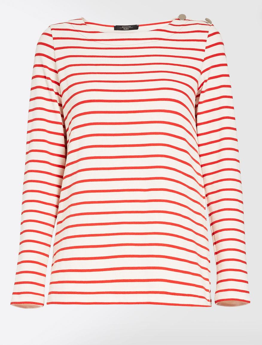 Cotton jersey sweater Weekend Maxmara