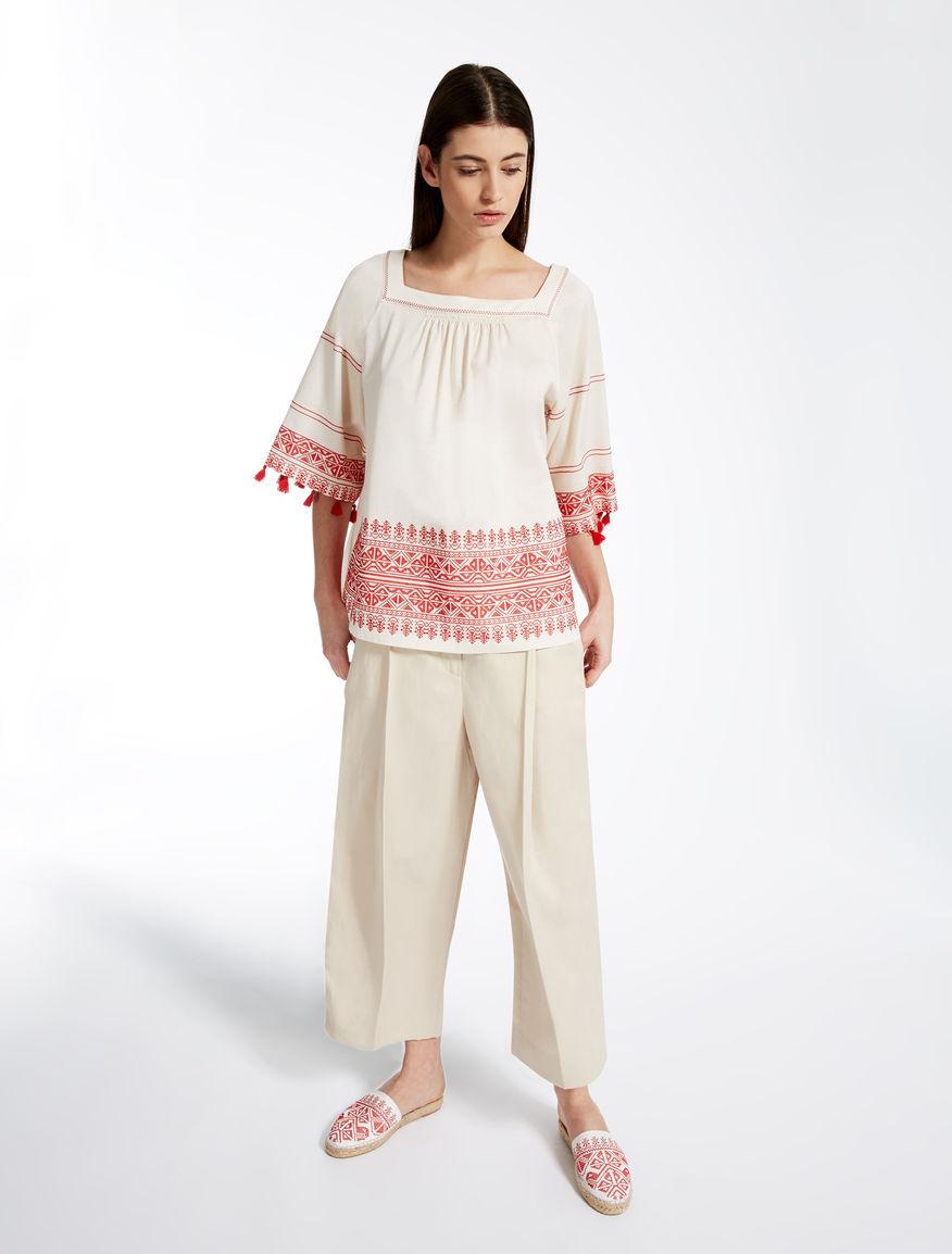 Cotton jersey tunic Weekend Maxmara