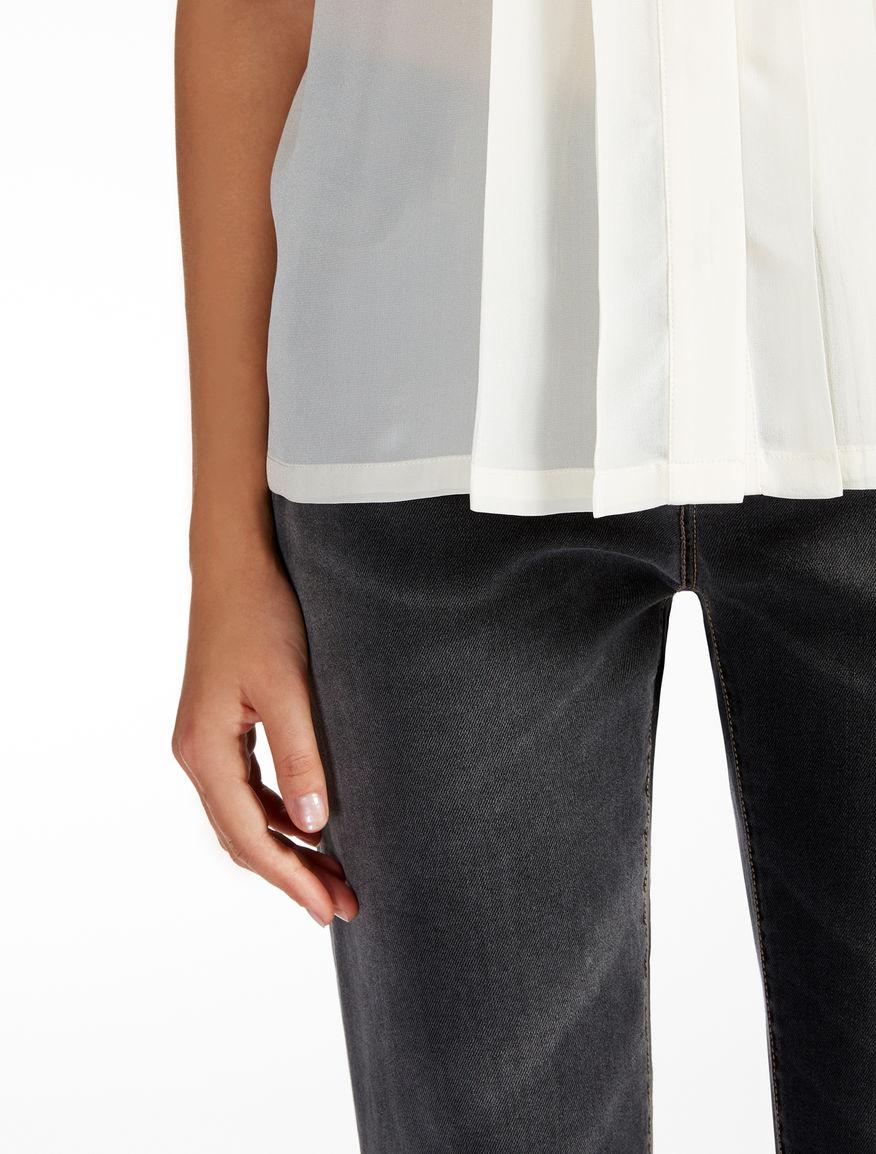 Silk and jersey shirt Weekend Maxmara