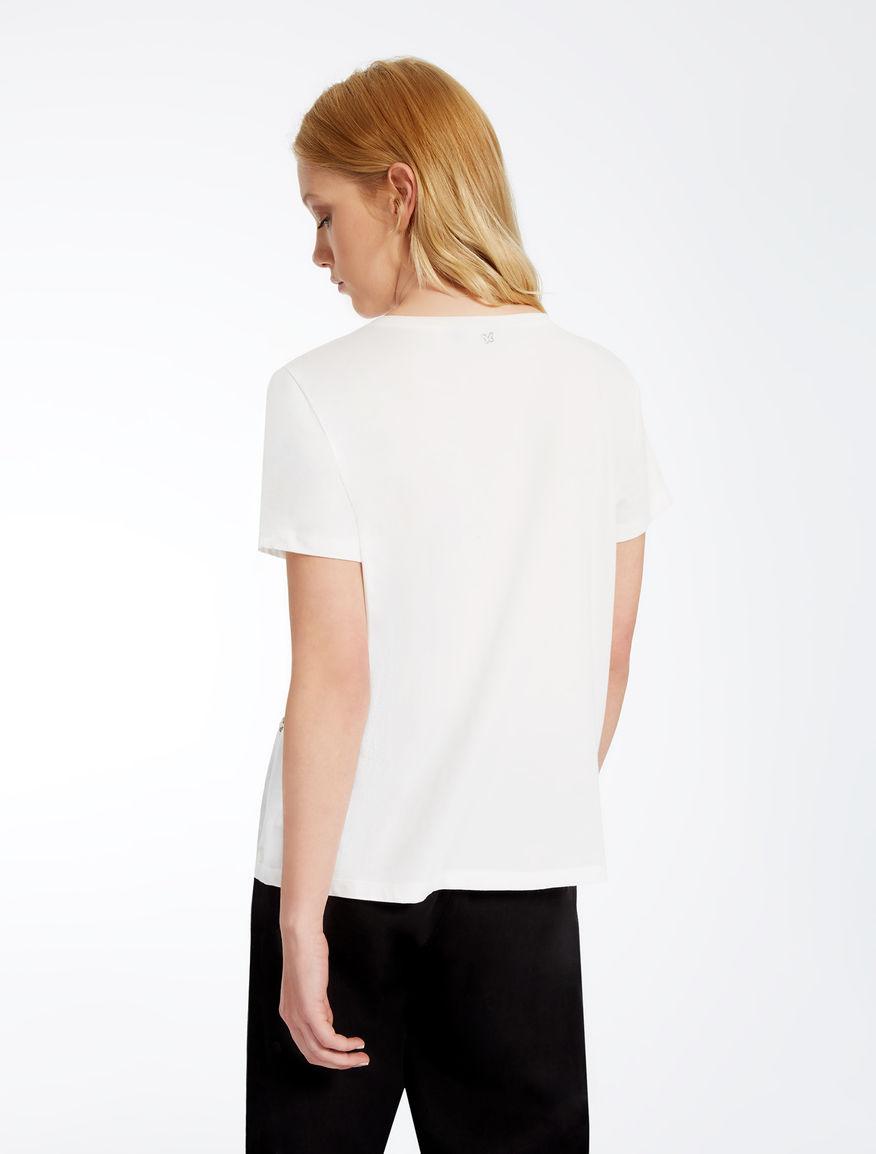 Jersey and linen T-shirt Weekend Maxmara