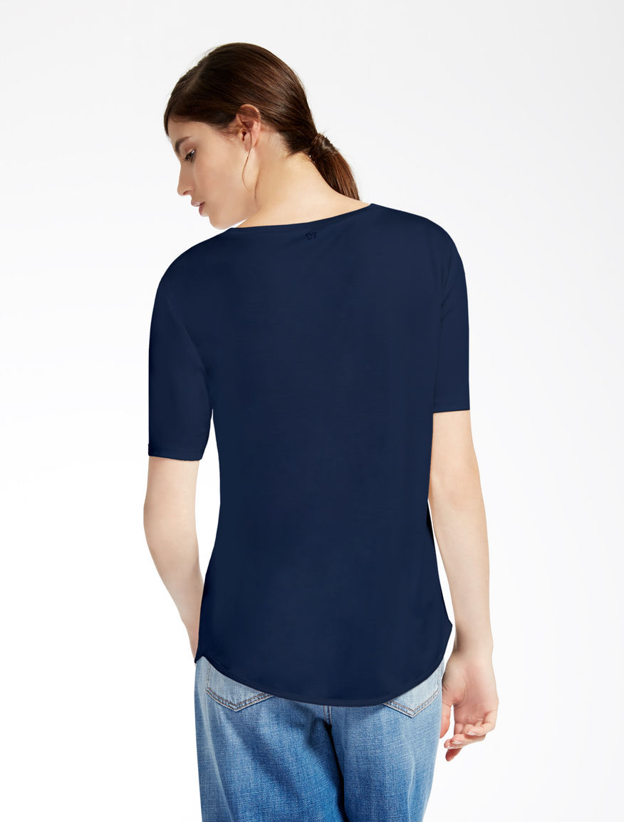 Pure silk jersey T-shirt Weekend Maxmara
