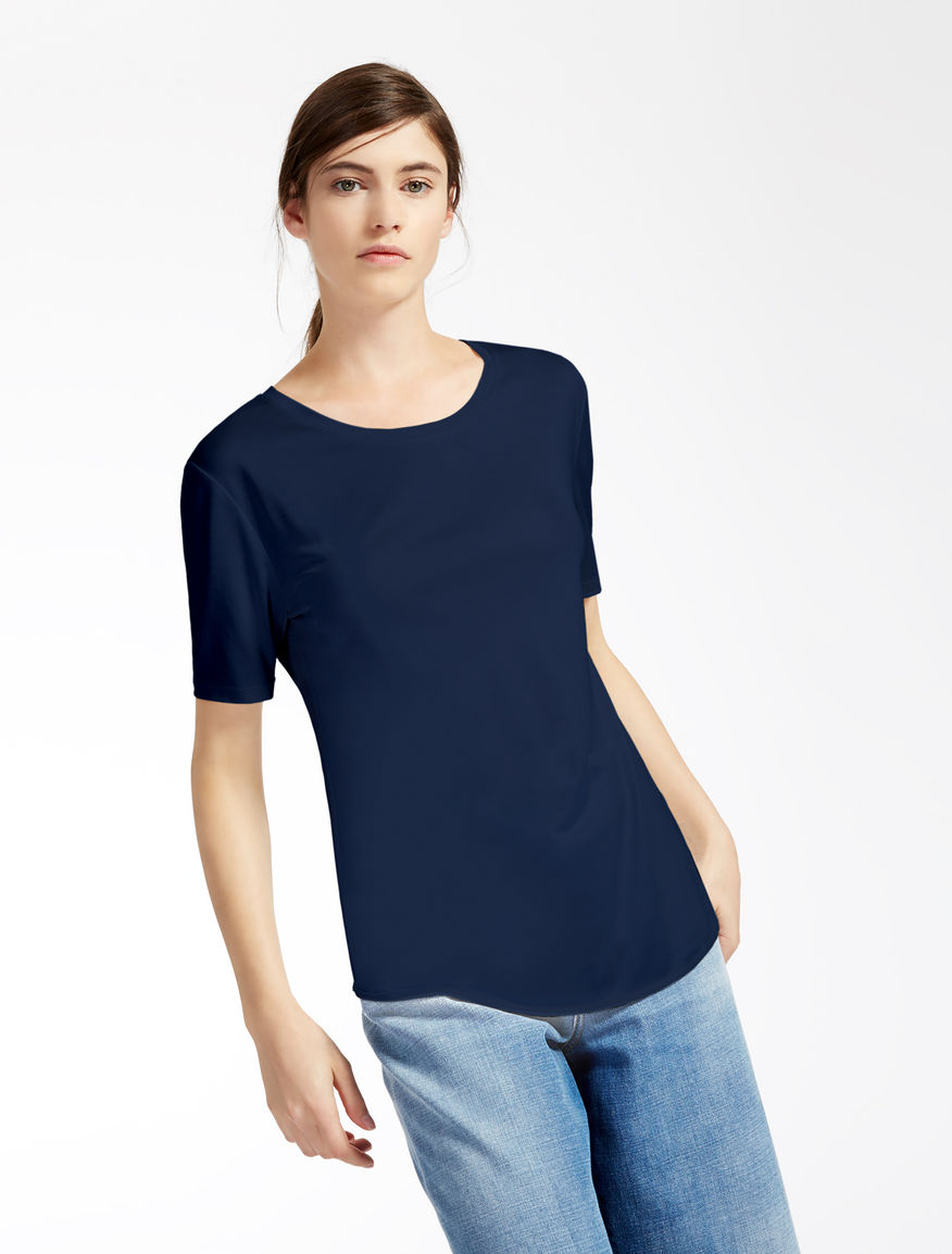 Pure silk jersey T-shirt Weekend Maxmara