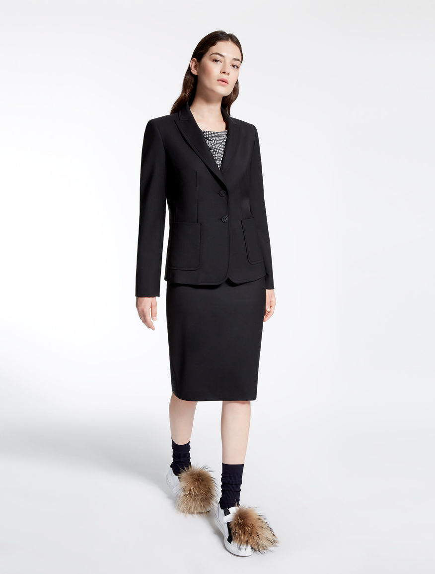Wool gabardine jacket Weekend Maxmara