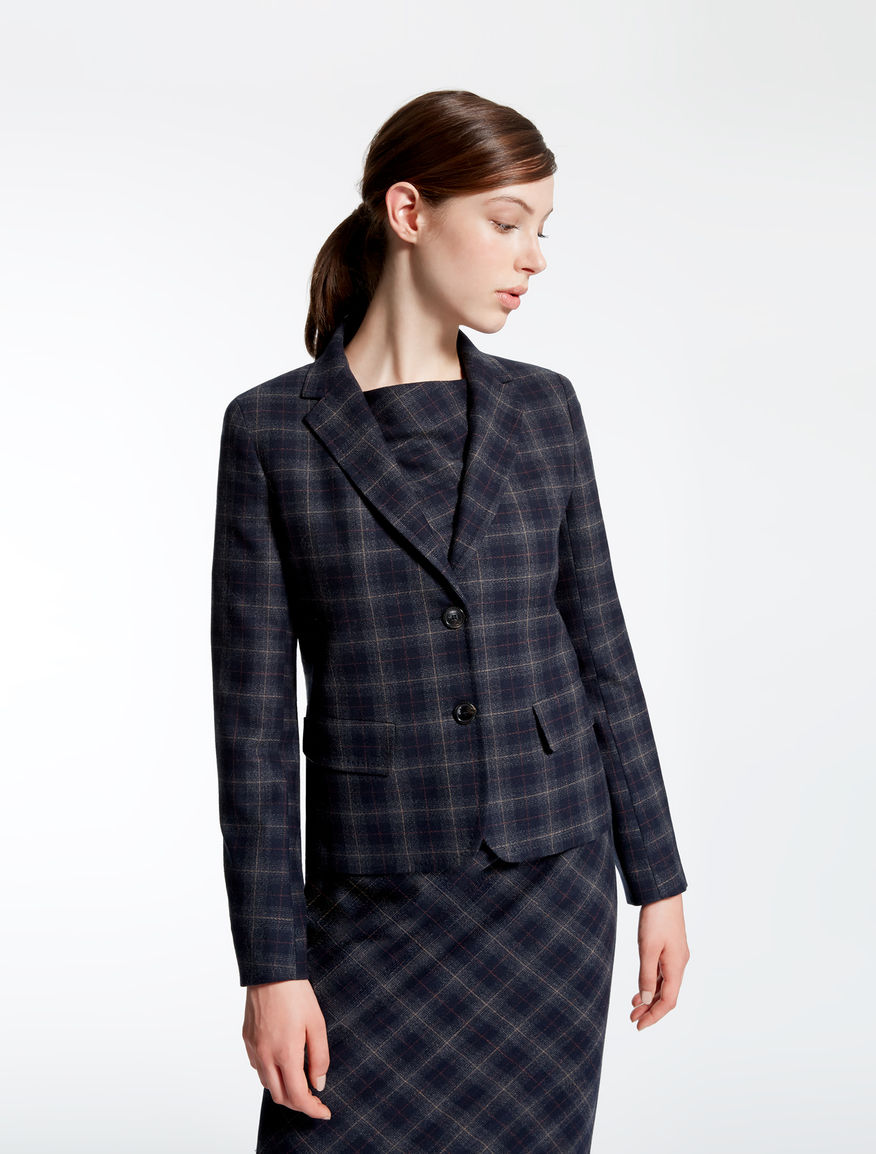 Wool flannel jacket Weekend Maxmara