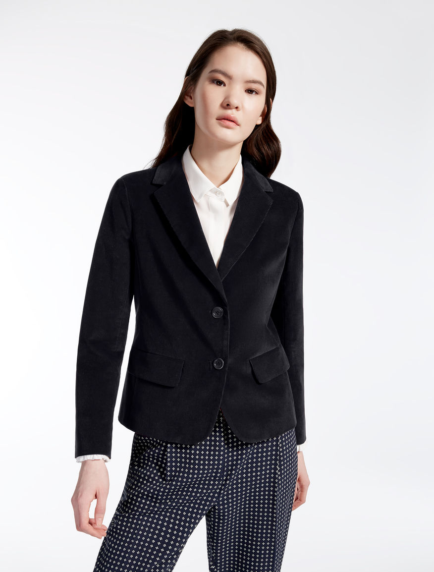 Needlecord velvet jacket Weekend Maxmara