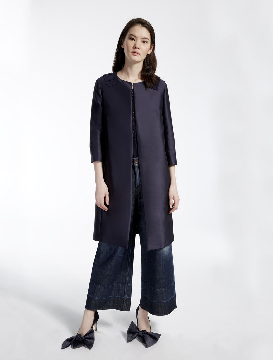 Shiny fabric duster coat Weekend Maxmara