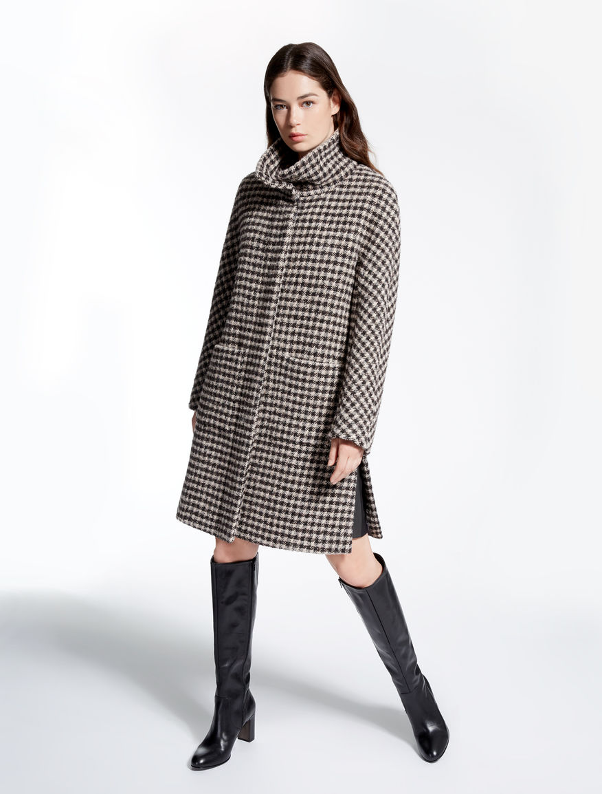 Bouclé wool coat Weekend Maxmara