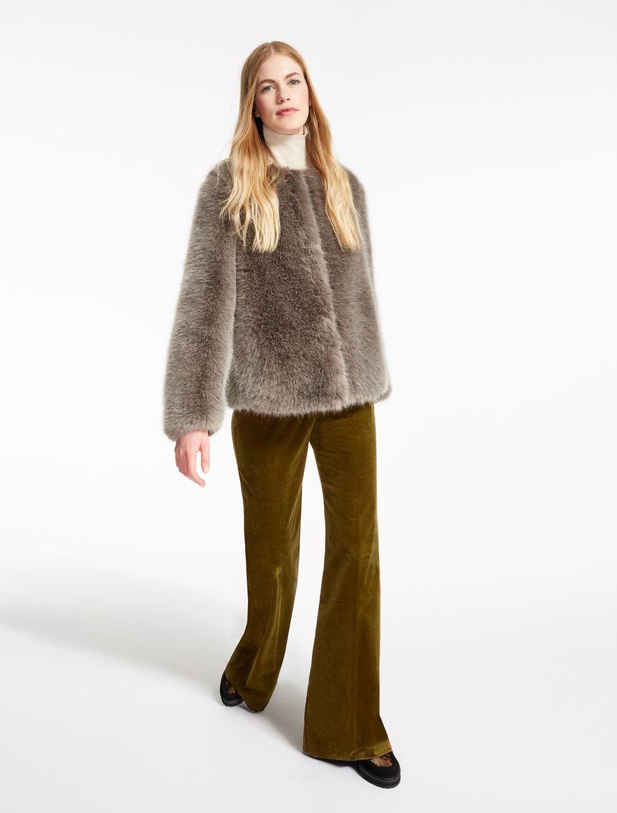 Fur-effect jacket Weekend Maxmara