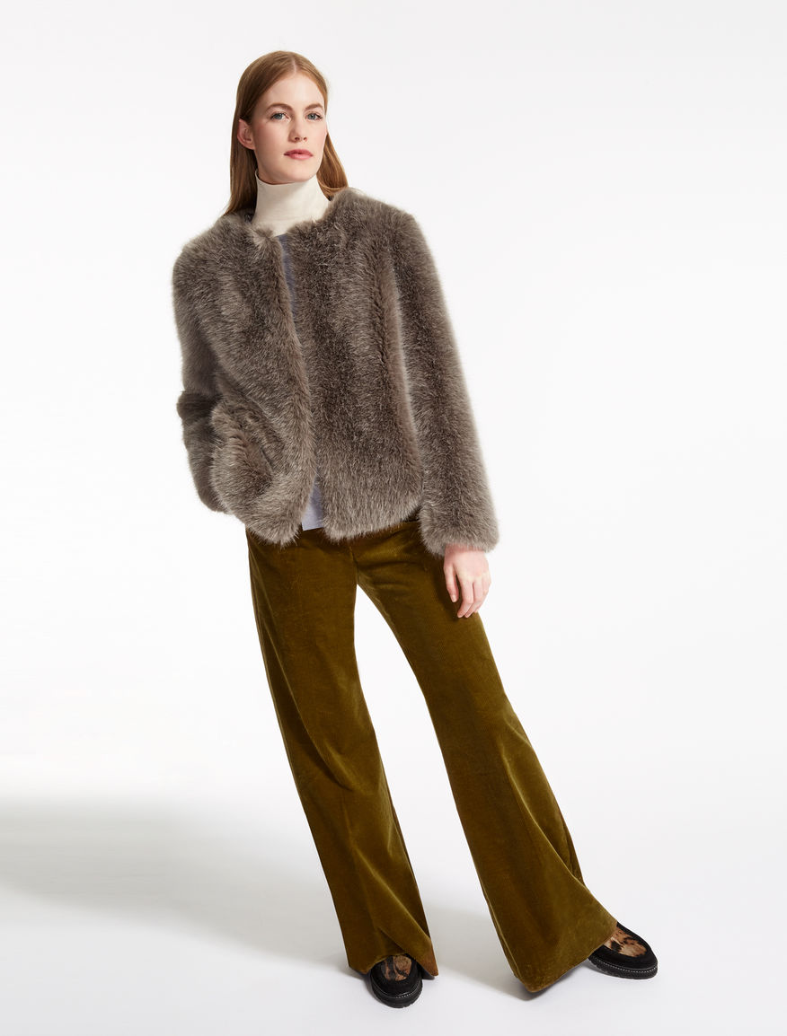 Fur-effect jacket Weekend Maxmara