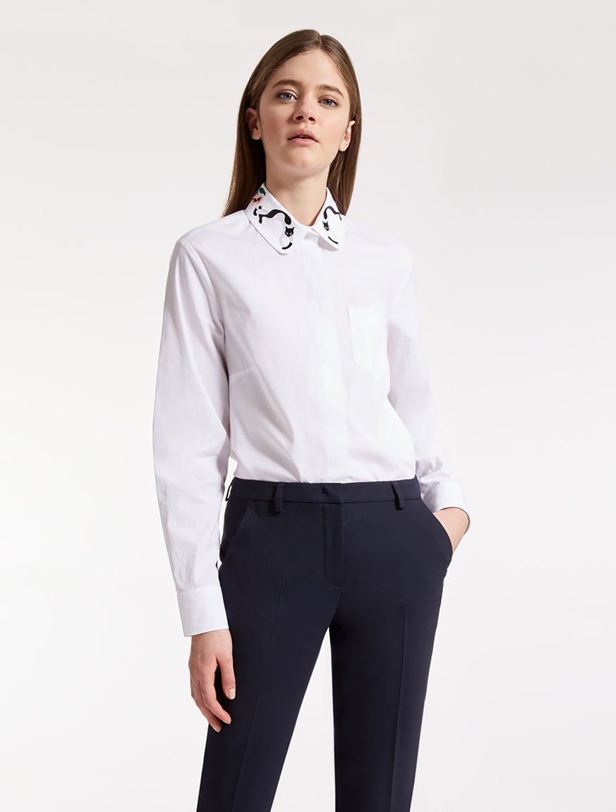 Chatmise -Cotton shirt Weekend Maxmara