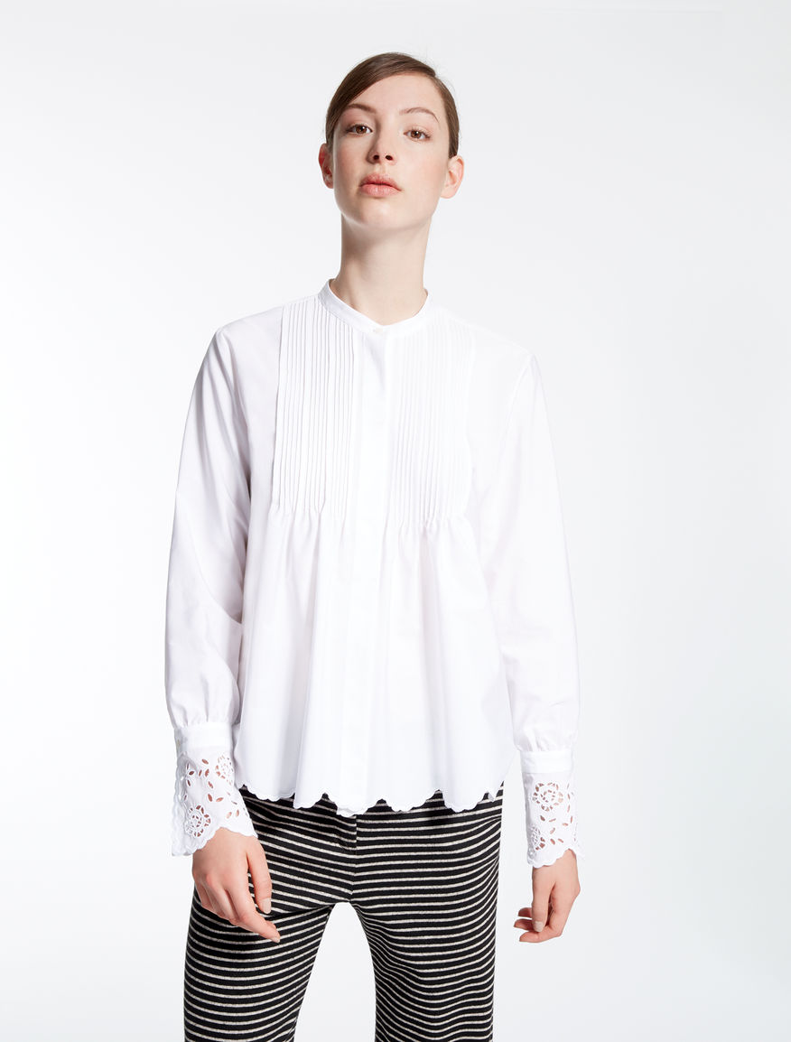Cotton poplin shirt Weekend Maxmara